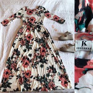 JessaKae ORIGINAL Floral Maxi Dress